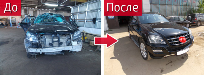 Кузовной ремонт Мерседес в Иваново